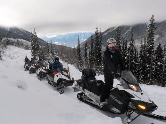 Golden, Kanada: Another day in paradise!