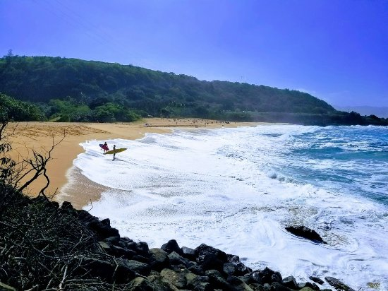 Honolulu, Hawái: Another day of Epic Surf at Waimea Bay