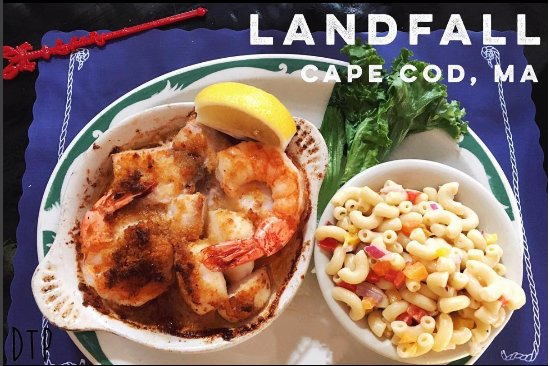 Woods Hole, ماساتشوستس: Landfall's Broiled Seafood Medley