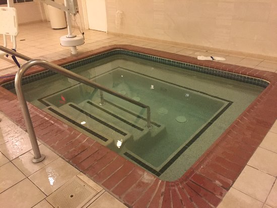 "SpringHill Suites Williamsburg: Hot tub than an hour before the ""official"" closing time, maintenance flooded with cold water."