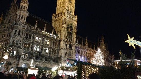 Marienplatz : Vista da praça