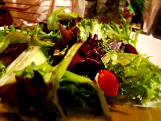 Big Sur River Inn Restaurant: The disappointing salad - $12!!