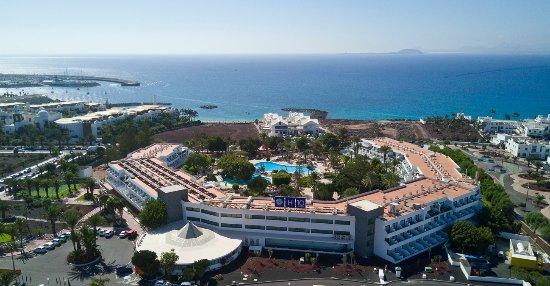 Spanien Lanzarote Karta.H10 Lanzarote Princess Playa Blanca Spanien Omdomen Och