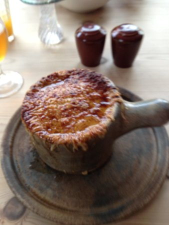 Little Eccleston, UK: French onion soup
