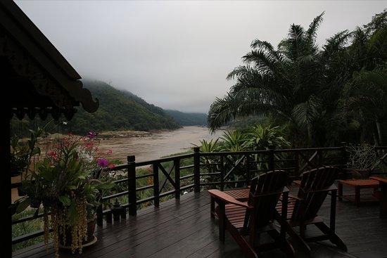 Pakbeng, Laos: misty morning