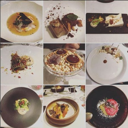 Cobea: Some highlights from our prix fixe meal