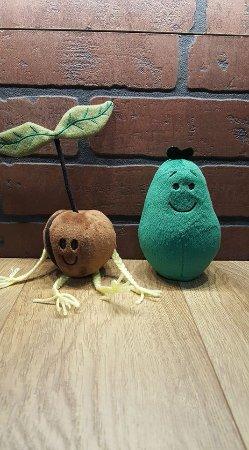 The Spoiled Avocado: Avocado plush toys