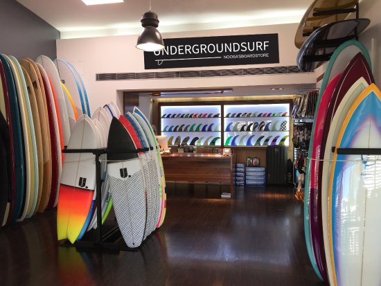 Noosa, Australia: Underground Surf 400+ Surfboards, Accessories, SUP'sj, clothing and gifts