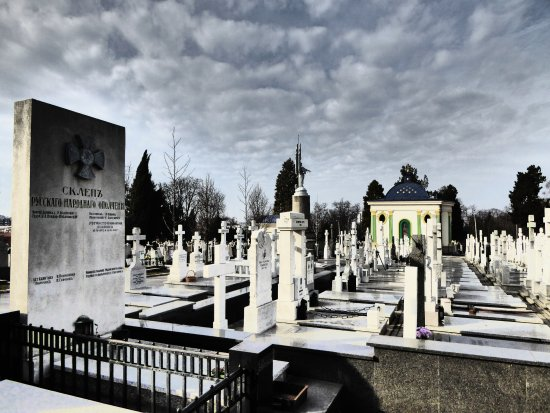 Russian Cemetery (New Cemetery)