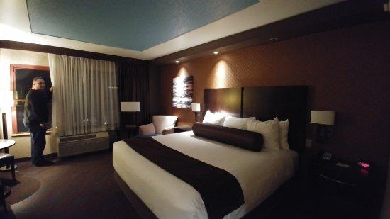 Grand Ronde, Oregón: Deluxe King room