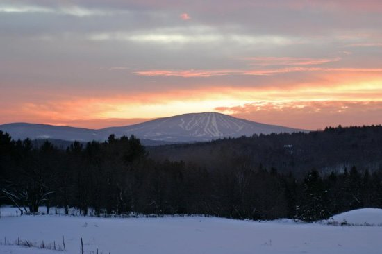 Weston, VT: Beautiful sunset