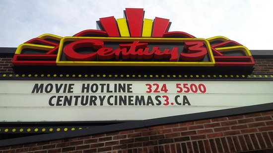 Lindsay, Kanada: Century Cinemas 3.  Come see a movie and enjoy a night out!