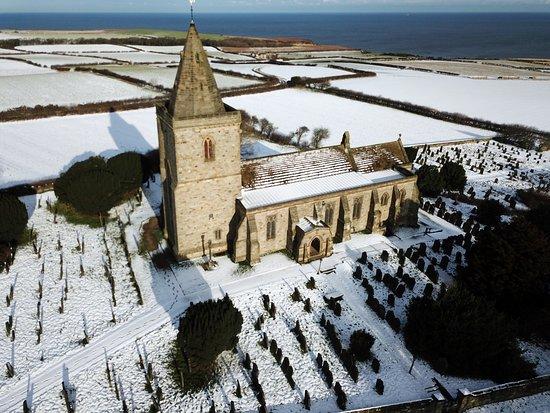 Church of St Oswald & Viking Grave Stones: Lythe Church