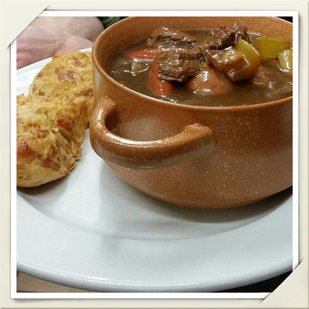 Ed & Mo's Diner: Homemade soups and stews.
