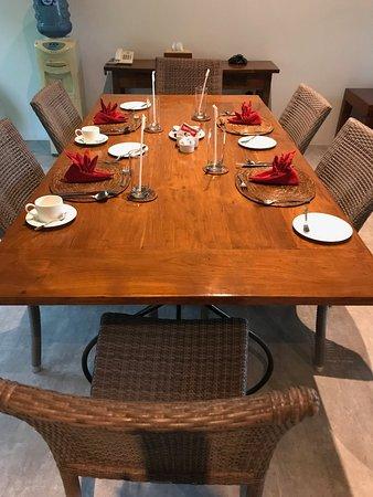 Kecapi Villa: Dining area
