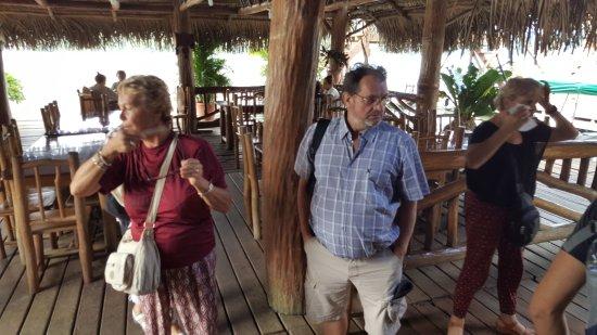 Rio Dulce, Gwatemala: en attente des tables