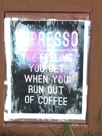 Kalaheo, HI: Parking lot sign at Kauai Coffee Company