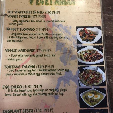 Ven'z Kitchen: Some menu