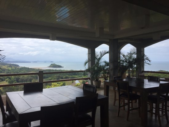 Torio, Panama: View from the main building/restaurant
