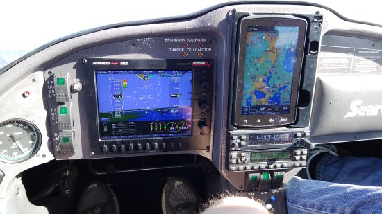 Jones Brothers Air and Seaplane Adventures: All digital glass panel. Side-by-side cockpit for two