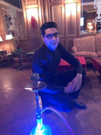 Temara, Morocco: The world famous Shisha King!