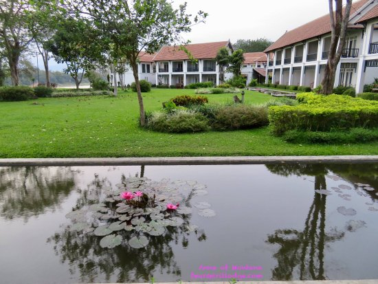The Grand Luang Prabang Hotel & Resort: View from ground floor room.