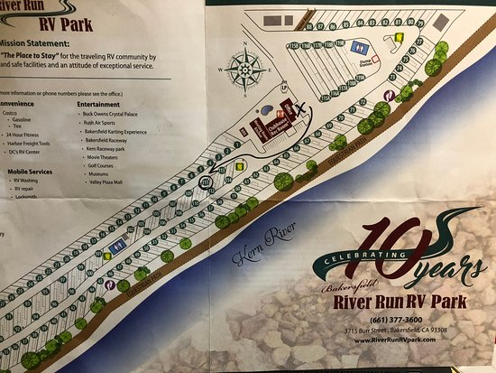 MAP - Picture of Bakersfield River Run RV Park, Bakersfield ... Map Of Csub Bakersfield on san francisco map, uc riverside map, cal state university map, uc santa cruz map, csu sacramento map, csu chico map,
