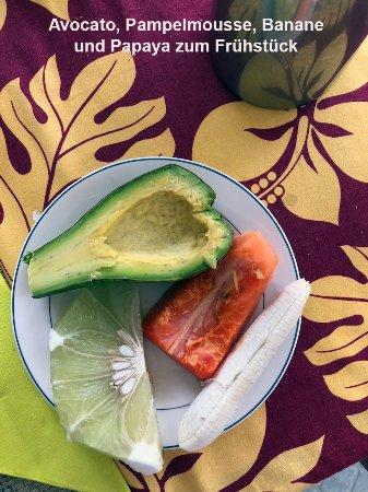 Relais Moeahu : Frühstücksfrüchte