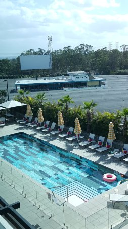 Atura Blacktown : Atura Hotel pool and drive-in theatre.