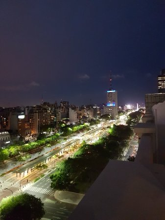 Scala Hotel Buenos Aires: View from 11th floor balcony