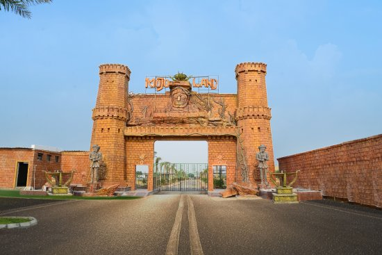 Sonipat, India: Mojoland entrance
