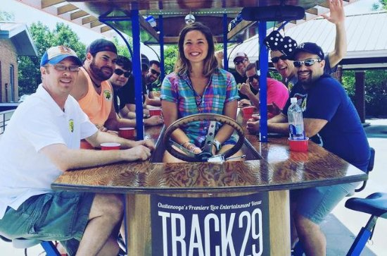 Chattanooga Pedaling Bar Tour