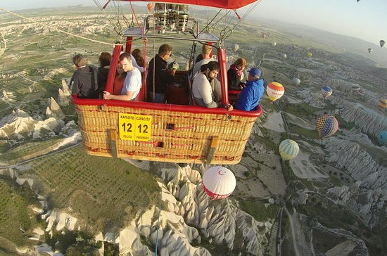 Sunrise Balloon Ride with Underground...