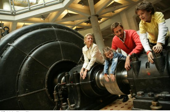 Adgangsbillet til Technisches Museum...