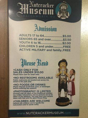 Nutcracker Museum: Price