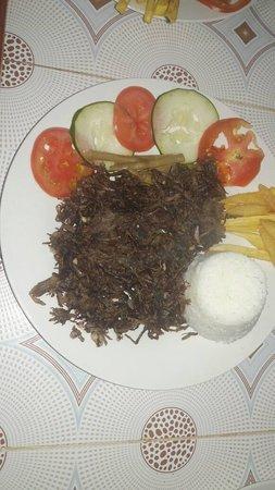 Excelente comida familiar