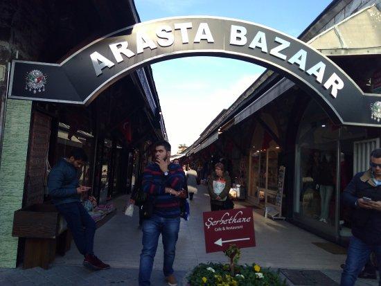 Arasta Bazaar: Arasta Bazar Entrance