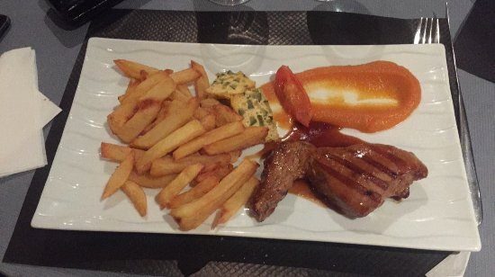 Arbanats, ฝรั่งเศส: porc laqué