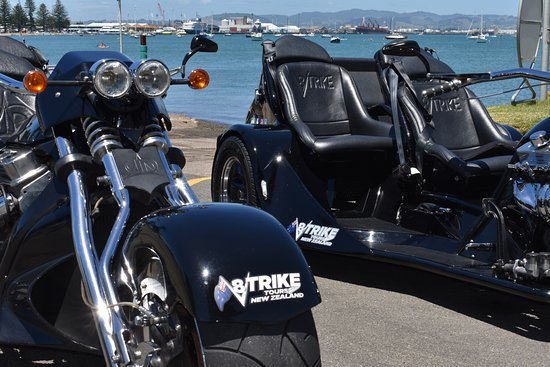 Mount Maunganui, New Zealand: Both Trikes together