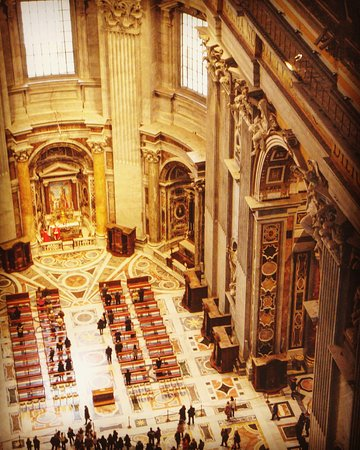 INTERIEUR - Picture of St. Peter\'s Basilica, Vatican City - TripAdvisor