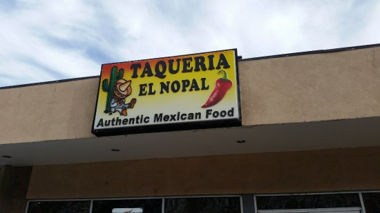 Taqueria El Nopal: Located on Highway 82 just below Walmart in South Glenwood