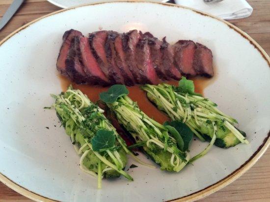 The Zin House: Twice cooked wagyu and zucchini 3 ways