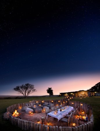 Kwandwe Private Game Reserve, Sydafrika: Fort House boma