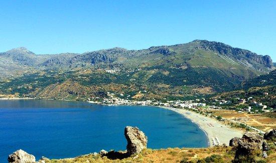 Mirthios, Grèce : The amazing beach of Plakias