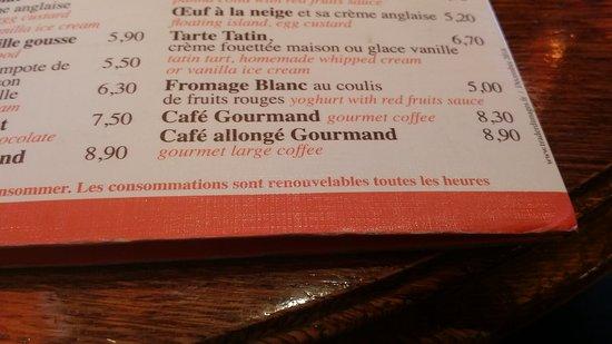 Cafe de France: Consommations à repayer chaque heure, que vous ne buviez ou pas