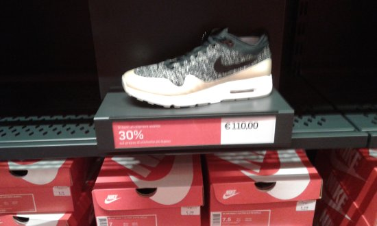 270a139f97d59a INTERNO NIKE... - Picture of Scalo Milano Outlet   More