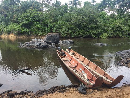 Kabalebo, ซูรินาเม: A trip on the river