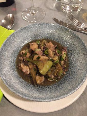 Foios, Espagne : Relación de platillos del menú degustación, enero 2018. Recomendable 100%.