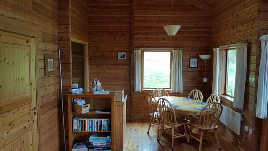 Dervaig, UK: Beech lodge dining area