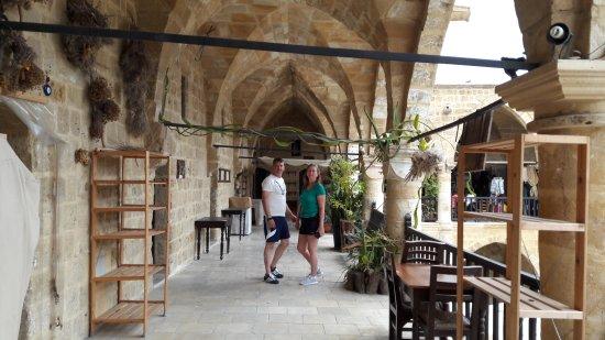 Sedirhan Restaurant: Upper level overlooking Courtyard